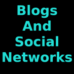 Blogs and Social Networks Photos and Images